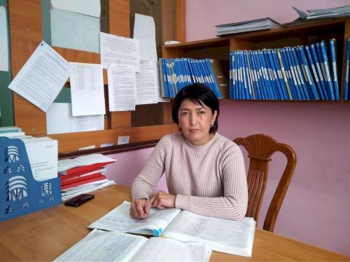 Джаныбекова Гулназ Асановна